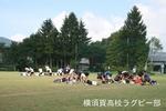 菅平合宿中盤